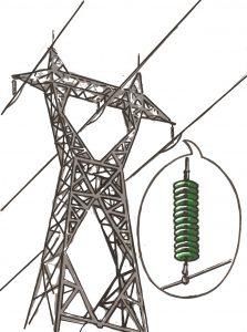 rayonnement des lignes à haute tension