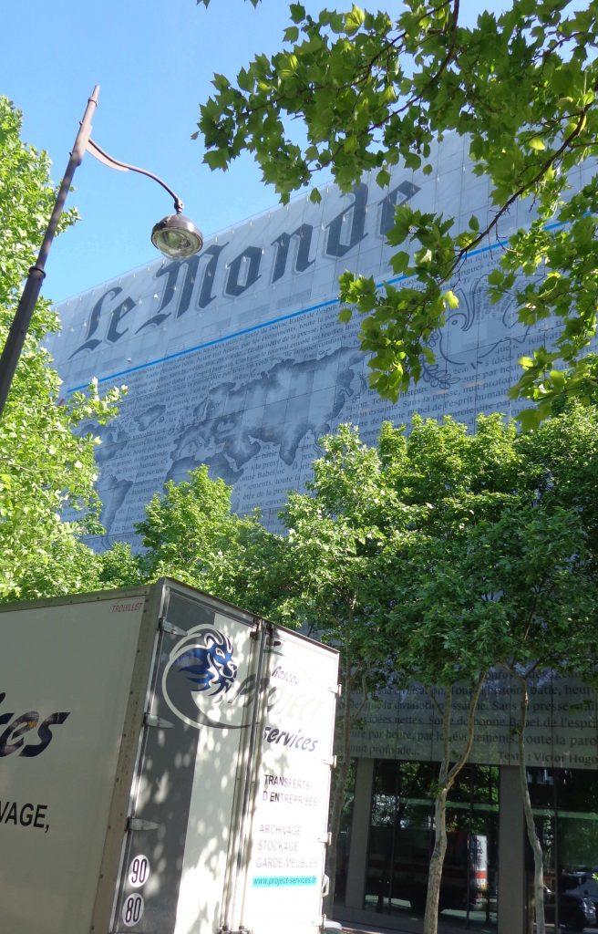 Bâtiment du journal Le Monde