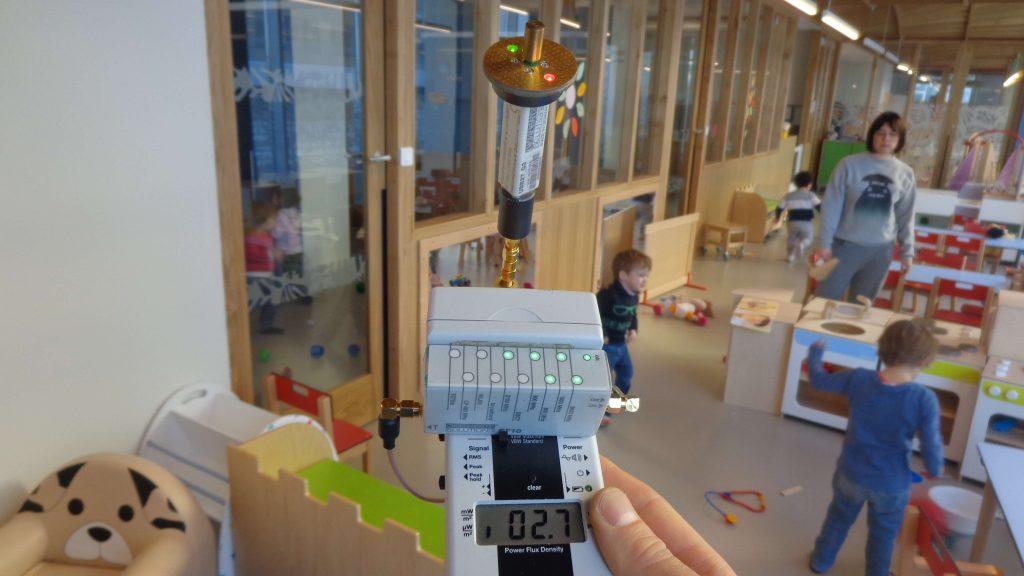 Diagnostic électromagnétique d'une crèche à Marseille